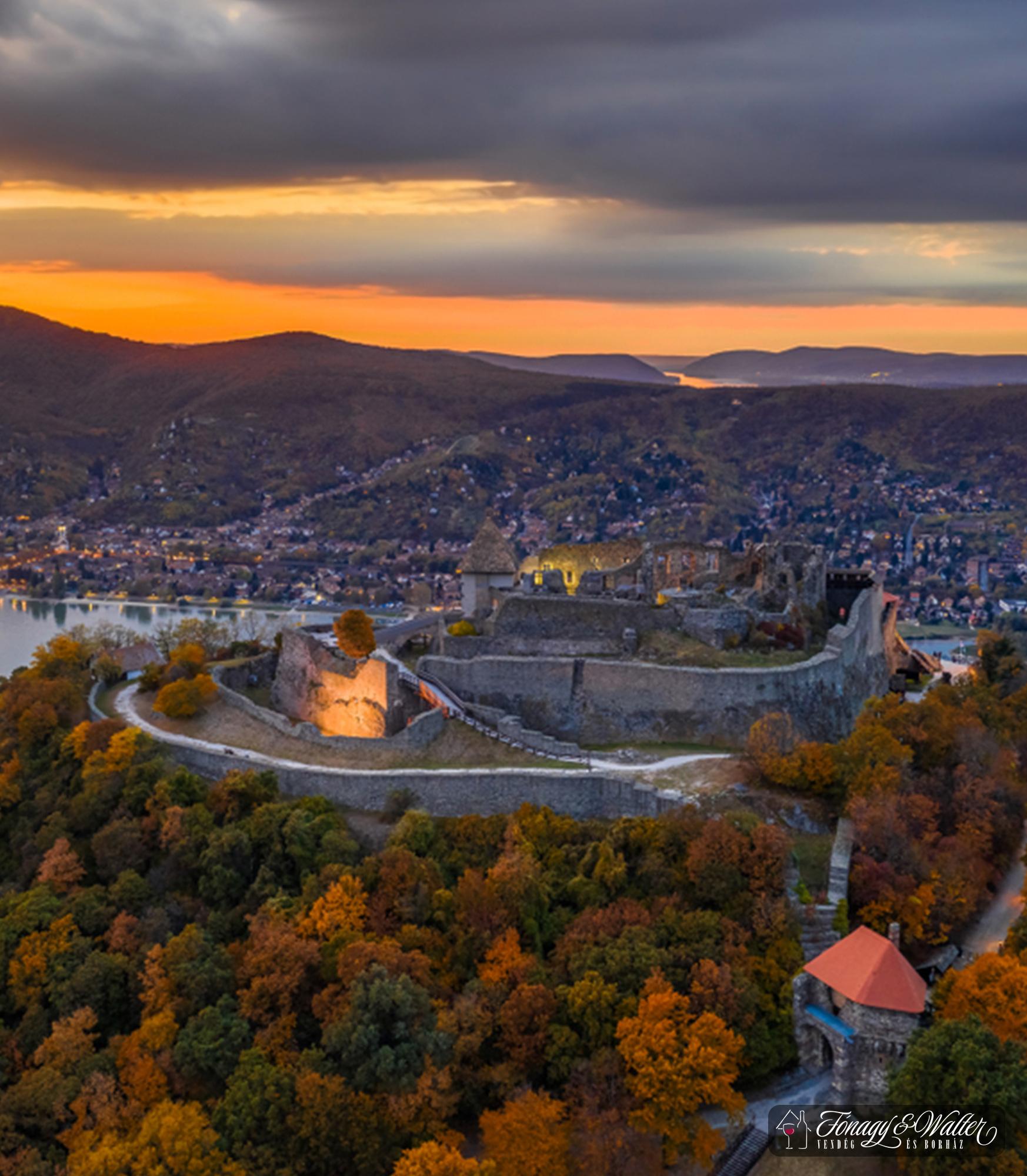 Visegrádi Fellegvár - Magyarország egyik legszebb panorámája